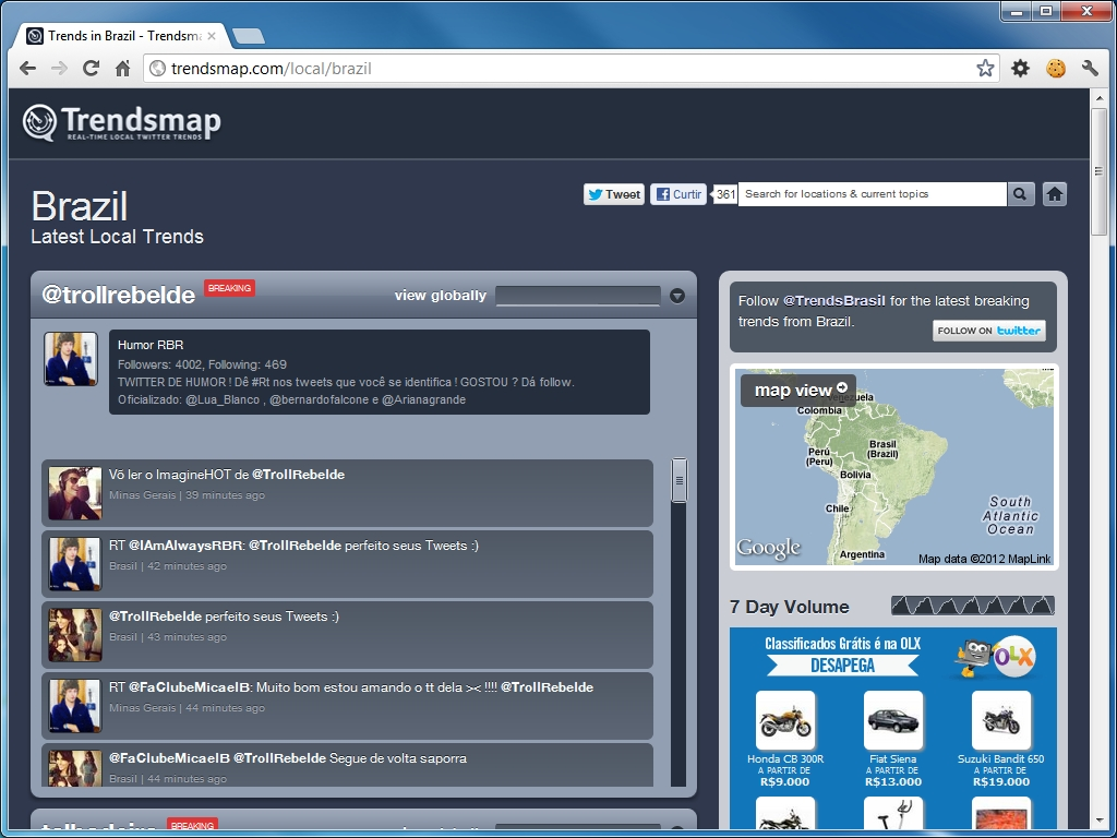 Trend Top Brasil