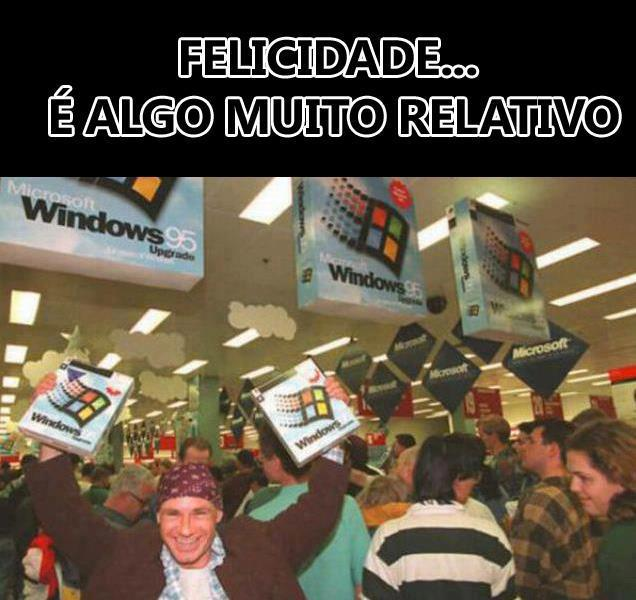 Fotos do lançamento do novo windows