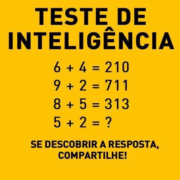 teste de inteligência qi