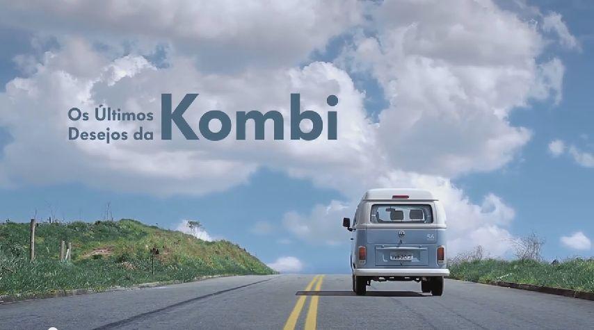 Último comercial da Kombi