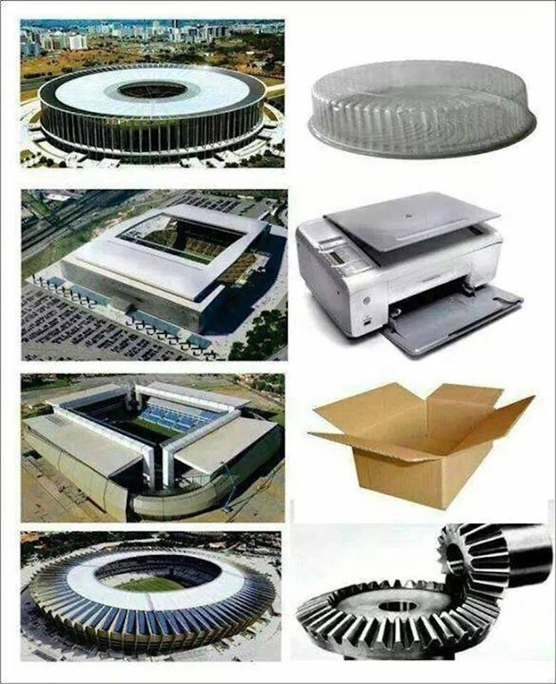 Estádios da Copa - Fotos