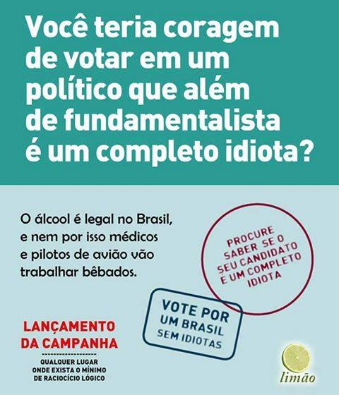 Um Brasil se Idiotas