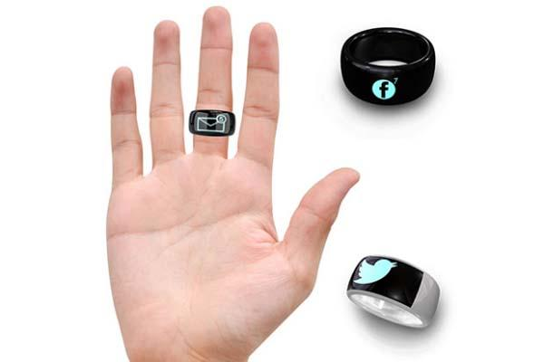 anel inteligente  conectado ao celular