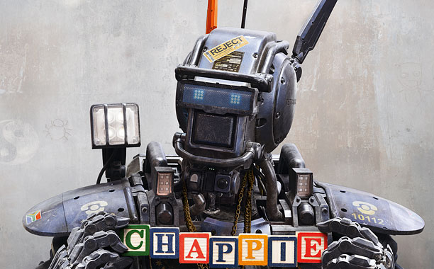 Chappie dvd bluray