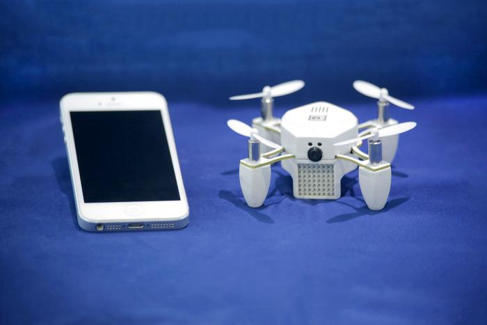 Como funciona o Selfie Drone