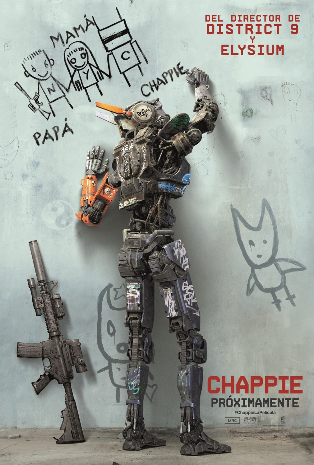 chappie cartaz cartas download torrent