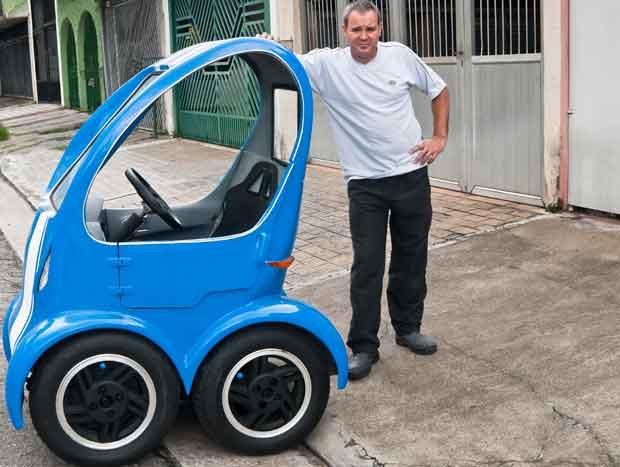 Nanico Car Azul Super Compacto