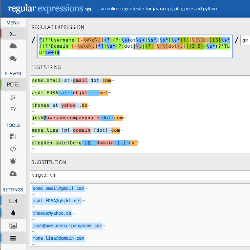 Regex Expression - Espressão Regular
